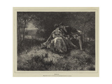 Spring Giclee Print by Ferdinand Heilbuth