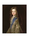 Prince James Francis Edward Stewart (1688-1766) as a Boy, 1701 Giclee Print by Francois de Troy