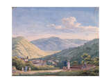 View of Bagni Di Lucca, October 1813 Giclee Print by Elisa Bonaparte