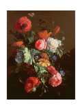 Poppies Giclee Print by Elias Van Den Broeck