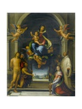 The Virgin and Child Surrounded by Saints, C.1570-1674 Giclée-tryk af Fra Bartolommeo
