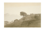 No.1621 View of the Bay of Naples and Mt. Lactarius, 1781 (W/C, Ink and Wash on Paper) Giclee Print by Francis Towne