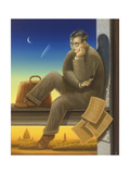 Shostakovich (1906-75) 2003 Wydruk giclee autor Frances Broomfield