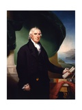 Governor George Clinton, 1814 Giclee Print by Ezra Ames