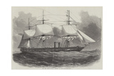 The New Steam-Frigate Mersey, 40 Guns Giclee Print by Edwin Weedon