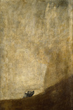 The Dog, 1820-23 Giclee Print by Francisco de Goya
