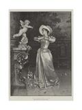 Cupid Worship Giclee Print by Francesco Vinea