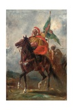 An Orientalist Chieftain on Horseback, 1863 Giclee Print by Eugene Fromentin