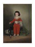 Don Manuel Osorio Manrique De Zuniga (1784-92), 1790 Giclee Print by Francisco de Goya