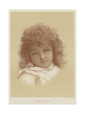A Pretty Study Giclee Print by Florence Claxton