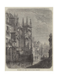 The Apsis of St Peter's Church at Caen, Normandy Giclee Print by Felix Thorigny
