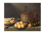 Still Life with Fruit, 1648 Giclee Print by Francisco Palacios
