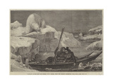 Lapland Lovers Off Cape North Giclee Print by Francois Auguste Biard