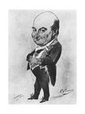 Charles Augustin Sainte-Beuve Giclee Print by Eugene Giraud