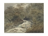 A Mountain Stream, 1801 Giclee Print by Francois Louis Thomas Francia
