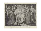 Cordelia Giclee Print by Ford Madox Brown