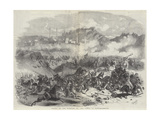 Defeat of the Russians by the Turks, at Kars Giclee Print by Eugen von Guerard