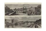 The Quays of Paris Giclee Print by Felix Thorigny
