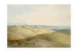 Pough Hill, Near Bude, Cornwall Giclee Print by Francis Towne