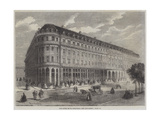 The Hotel De La Paix, Paris Giclee Print by Felix Thorigny