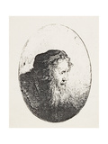 Bearded Old Man, C.1644-46 Giclee Print by Ferdinand Bol
