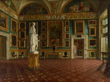 Sala Dell'Iliade in the Pitti Palace, Florence, C.1870 Photographic Print by Francesco Maestosi