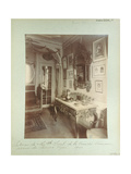 Interior of the Home of Cecile Sorel at 99 Avenue Des Champs Elysees, 1910 Giclee Print by Eugene Atget