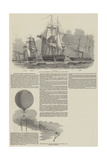 Captain Austin's Arctic Expedition Giclee Print by Edwin Weedon