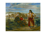 View of Tangier, 1852-3 Giclee Print by Ferdinand Victor Eugene Delacroix