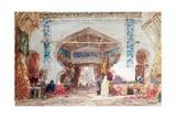 Bazaar in Constantinople Giclee Print by Felix Ziem