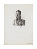 Portrait of Marshal Michel Ney, 1814 Giclee Print by Francois Pascal Simon Gerard