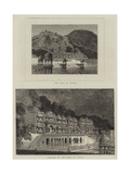 Views in India Giclee Print by Emile Theodore Therond