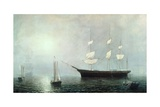 Ship Starlight, C.1860 Giclee Print by Fitz Henry Lane