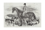 The Late Sir Richard Sutton, Baronet Giclee Print by F. Grant