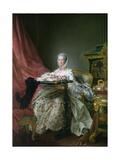 Madame De Pompadour, 1763-64 Giclee Print by Francois-Hubert Drouais