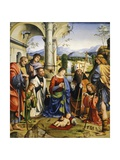 Bentivoglio Altarpiece, 1499 Giclee Print by Francesco Francia