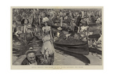 Royal Henley, the Scene on the River Between the Races Giclee Print by Frank Craig