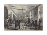 The Royal Hospital of Bethlehem, the Gallery for Men Giclee Print by Frank Vizetelly