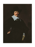 A Dutch Gentleman, C.1643-45 Giclee Print by Frans Hals