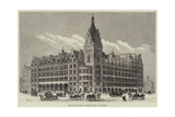 The New Central Station Hotel, Glasgow Giclee Print by Frank Watkins