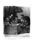 Mephistopheles Giclee Print by Ferdinand Victor Eugene Delacroix