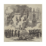 The Revolution in Sicily Giclee Print by Frank Vizetelly