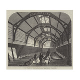 New Ward for the Casual Poor at Marylebone Workhouse Giclee Print by Frank Watkins