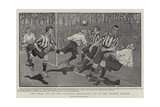 The Final Tie for the Football Association Cup at the Crystal Palace Giclee Print by Frank Gillett