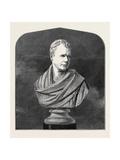 The Scott Centenary: Sir Walter Scott from the Bust, 1871 Giclee Print by Francis Legatt Chantrey