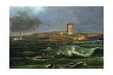 Marina, 1812 Giclee Print by Francesco Fidanza