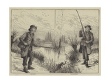 Fishing Scenes Giclee Print by Frank Feller