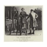 The Broom Squire Reproduction procédé giclée par Frank Dadd