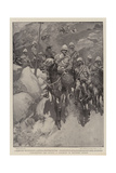 Comparisons are Odious, a Contrast in Mounted Troops Giclee Print by Frank Craig