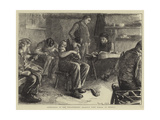 Shoemaking at the Philanthropic Society's Farm School at Redhill Giclee Print by Frank Holl